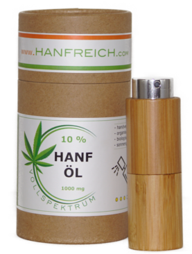 20% Premium CBD Vollspektrum Hanföl Spray